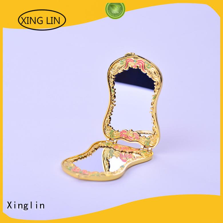 makeup european vintage mirror and comb set modeling engraving Xinglin Brand