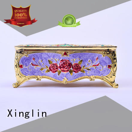 useful carved quality jewelry boxes home three dimensional Xinglin Brand