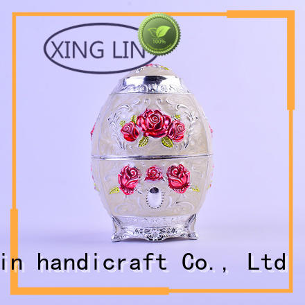 Xinglin Brand carved fashion eggshaped antique toothpick holders manufacture