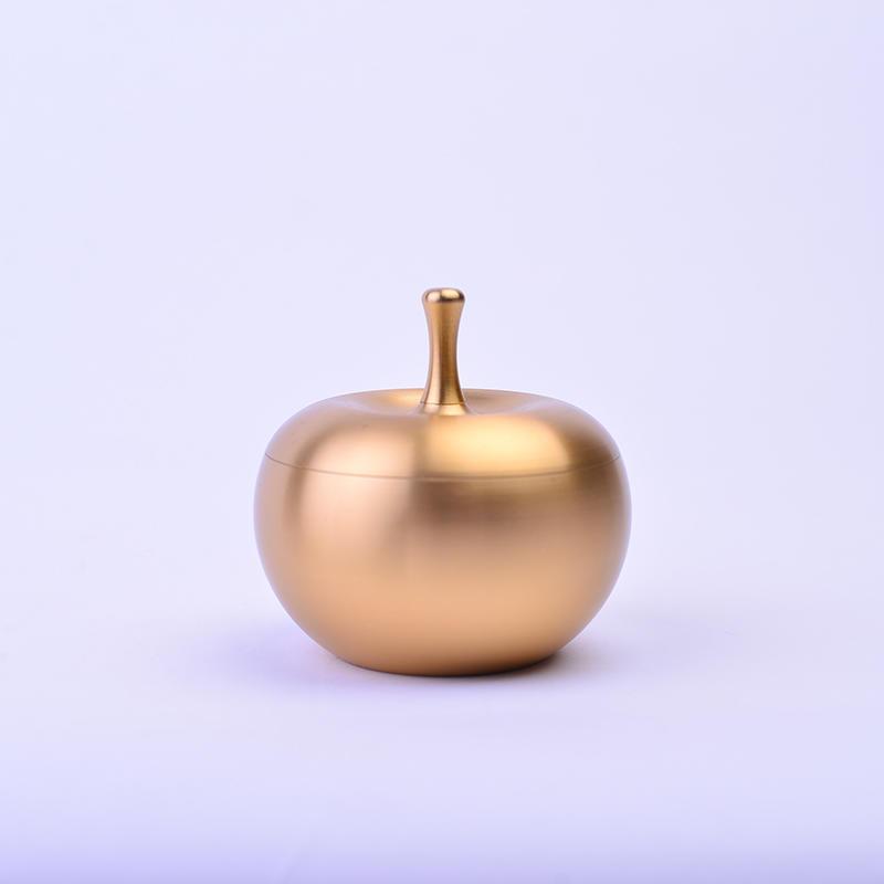 High quality apple shape metal cigar ashtray