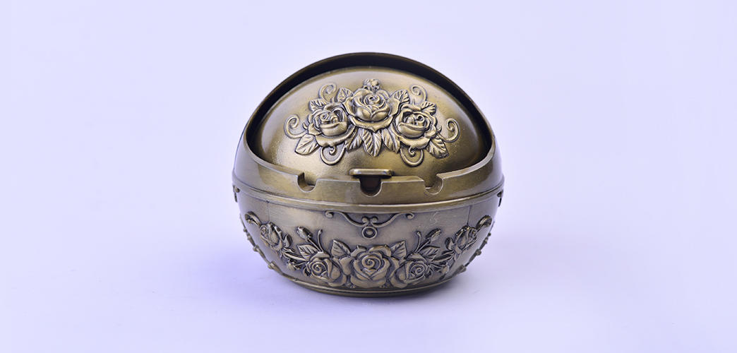 cover retro city style OEM antique ashtrays Xinglin