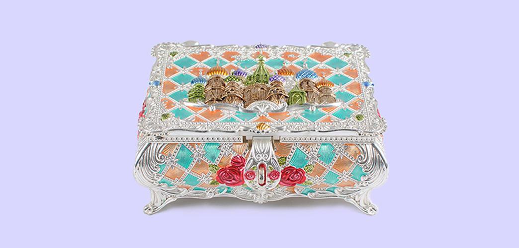 home eco-friendly metal jewelry box decoration Xinglin Brand