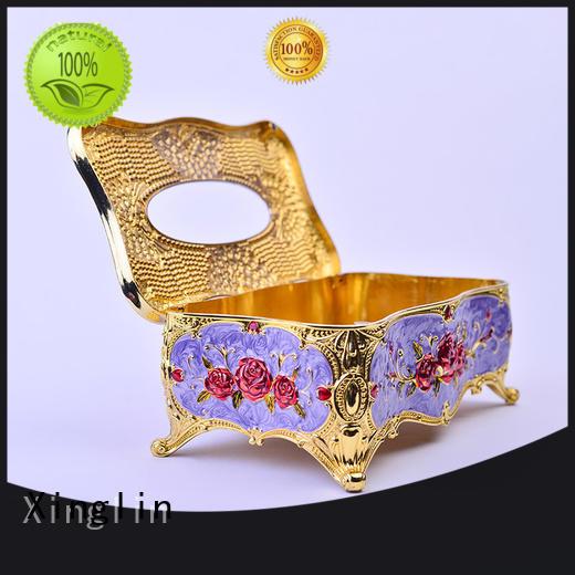 silver Top quality style Eco-friendly Xinglin Brand tissue box design supplier
