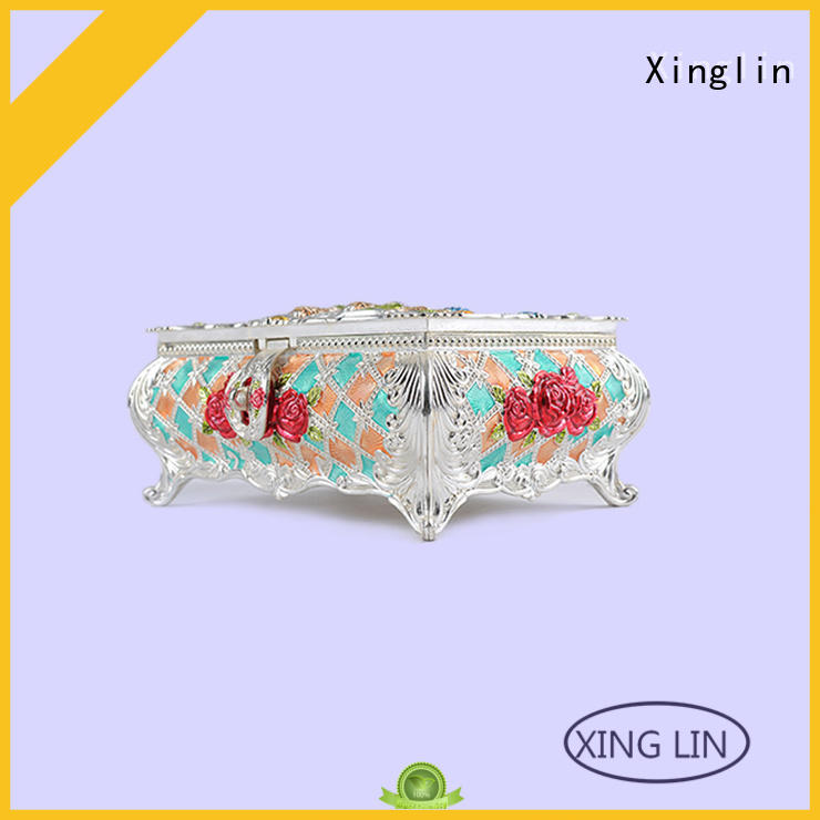 Hot quality jewelry boxes home Xinglin Brand