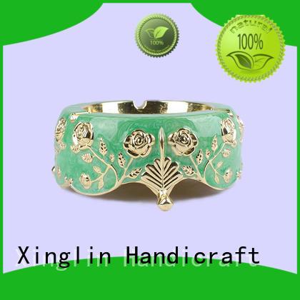 alloy european quality antique ashtrays retro Xinglin Brand