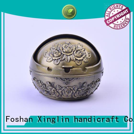 windproof alloy antique ashtrays Xinglin Brand
