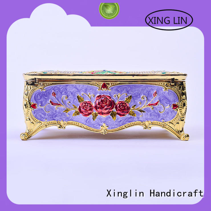 Xinglin fashion vintage jewelry box factory for home