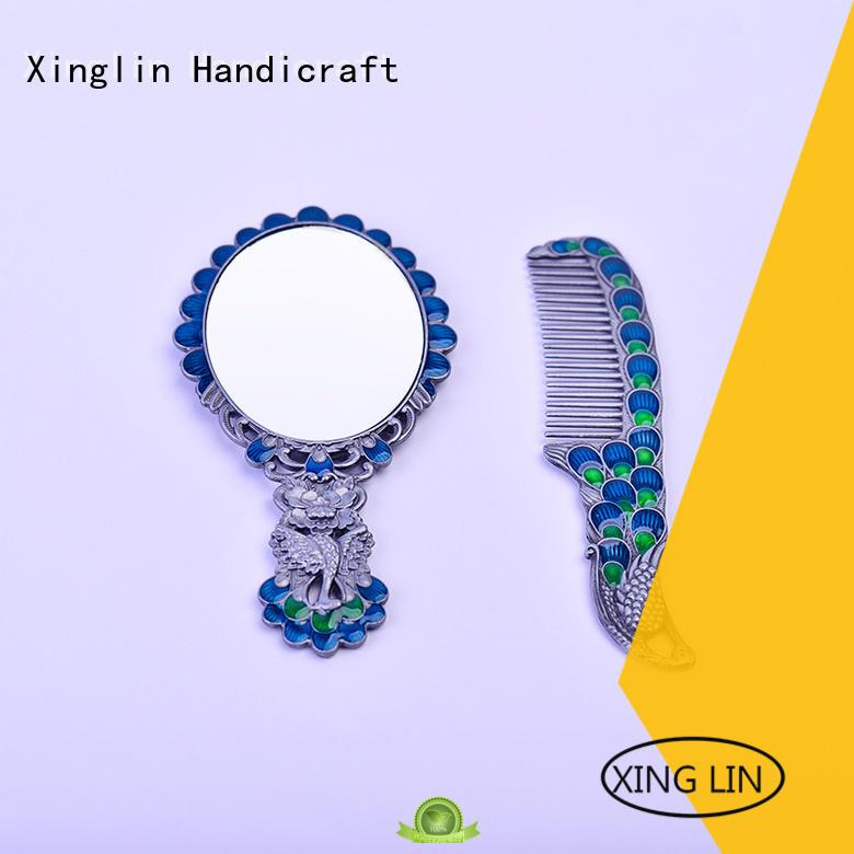 Xinglin Brand makeup design brush comb and mirror set antique factory