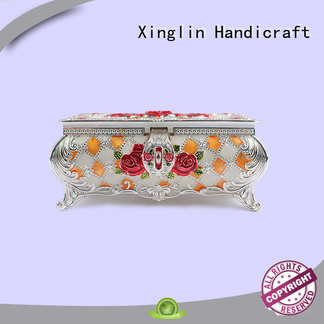 fashion useful quality jewelry boxes natural three dimensional Xinglin Brand