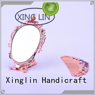 vintage mirror and comb set retro european Bulk Buy design Xinglin