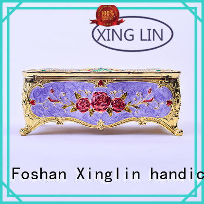 Xinglin Brand three dimensional carved quality jewelry boxes