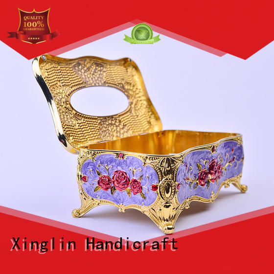 fine gold tissue box supplier for clubs