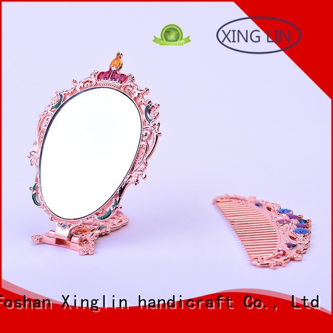 castle peacock OEM brush comb and mirror set Xinglin