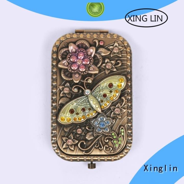 Xinglin vintage brush and mirror set for busniess for wedding