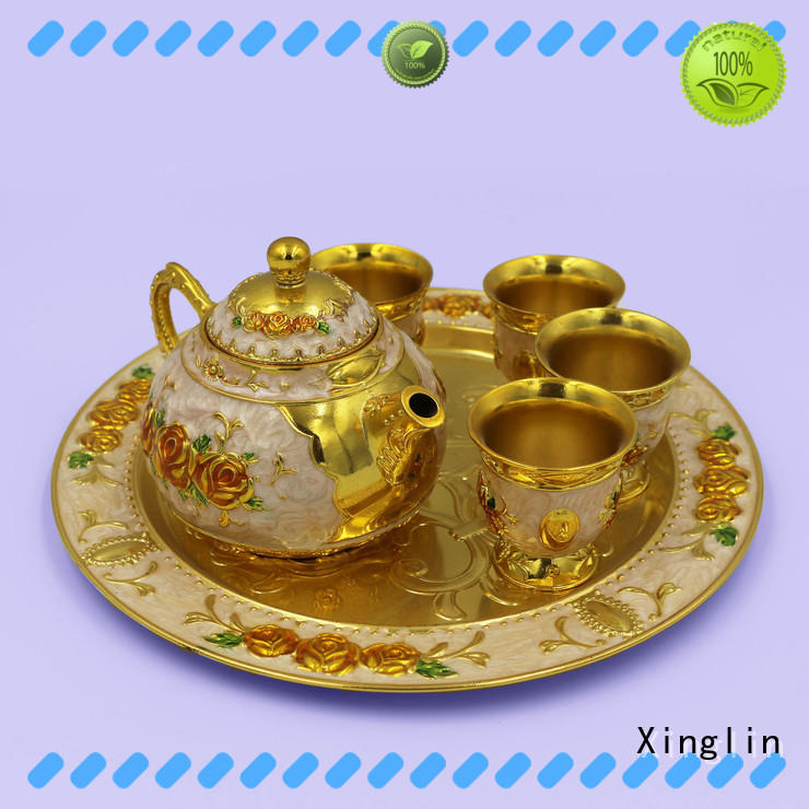 Vintage craft tea set