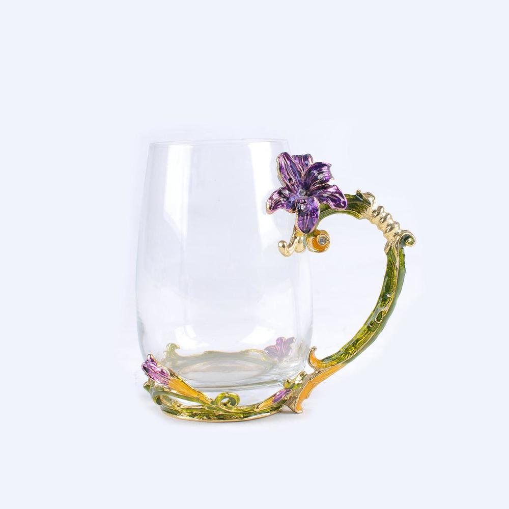 High quality transparent crystal glass