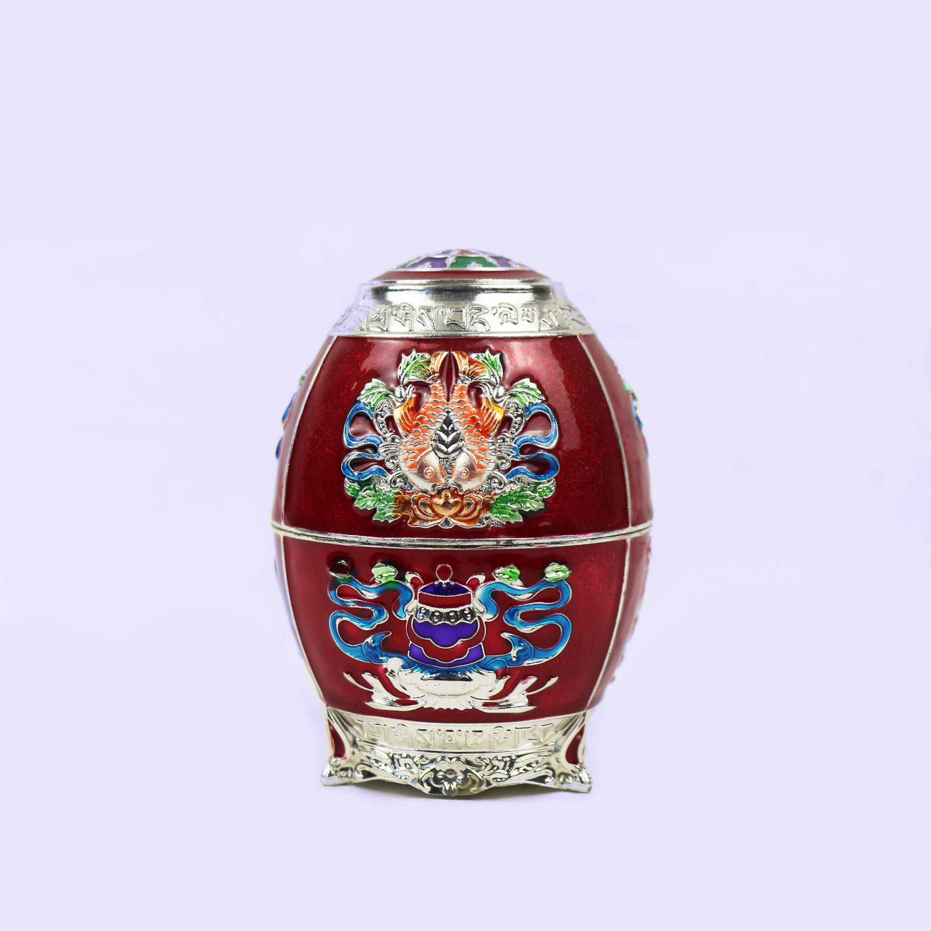 European retro purple fashion toothpick holder