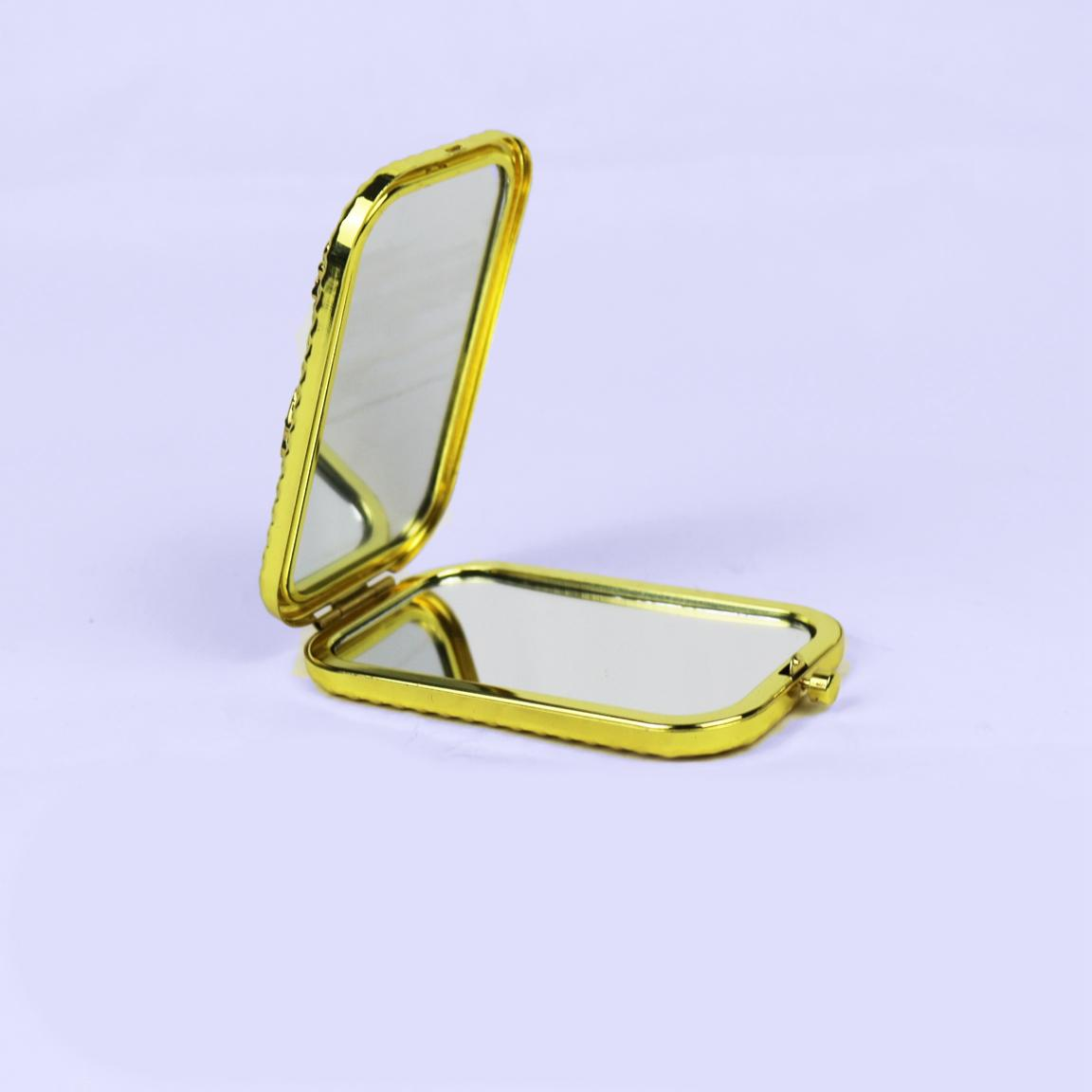 European retro double-sided folding small mirror