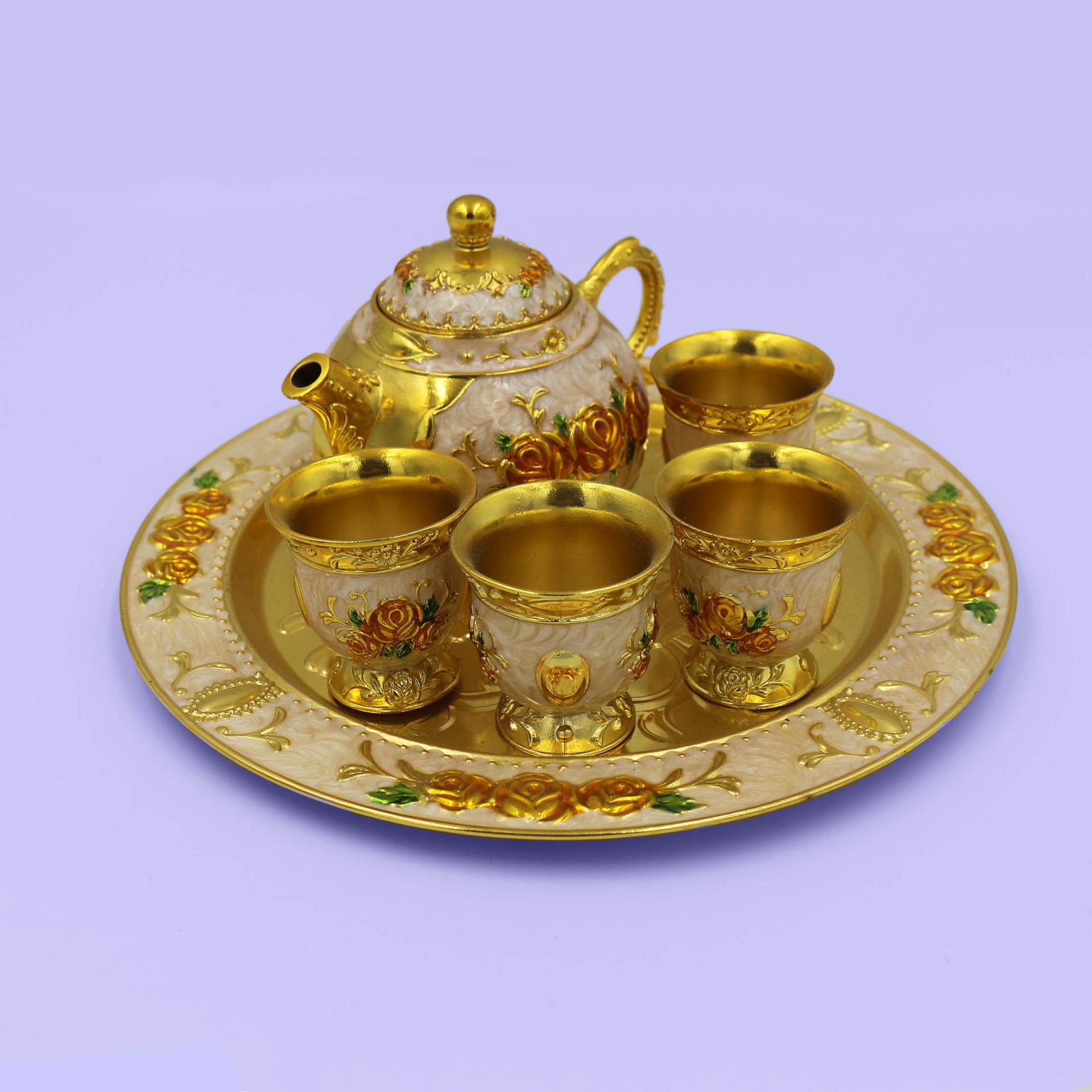 Vintage craft tea set