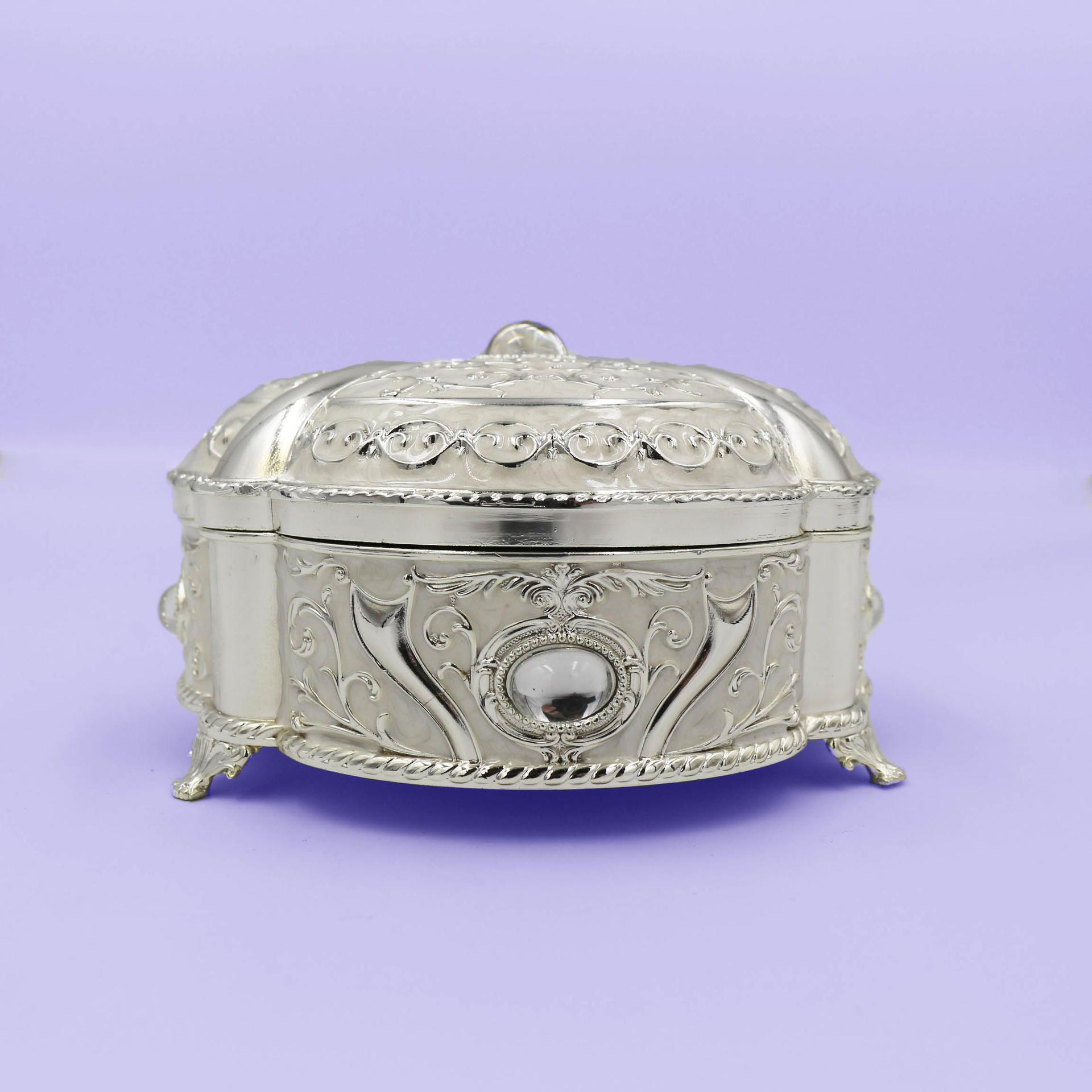 European creative retro jewelry storage box