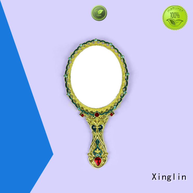 single hand holding mirror manufacturer for collection