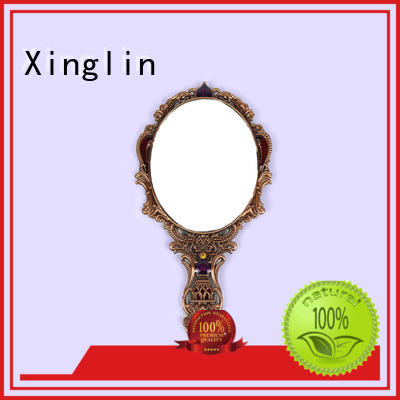 Xinglin large handheld mirror supply for wedding