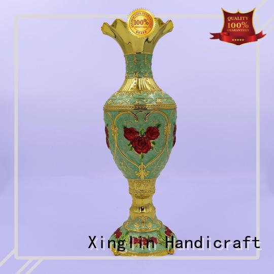 European retro rose vase decoration