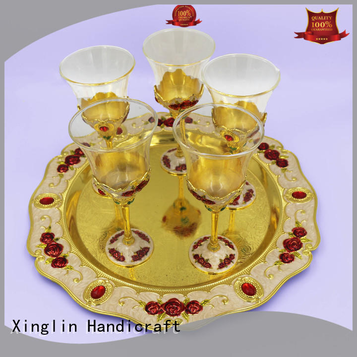 christmas wine glasses supplier for wedding Xinglin