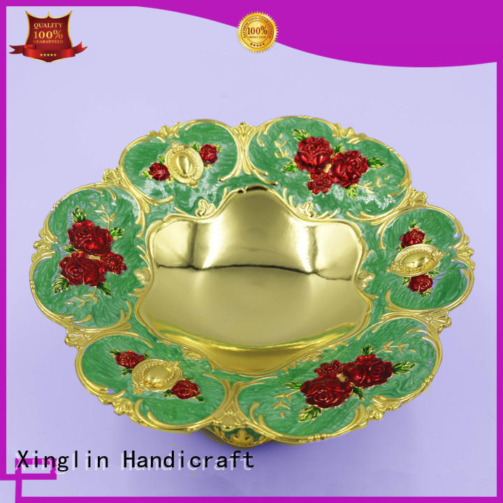 plate European retro crafts ornaments tea can for hotel