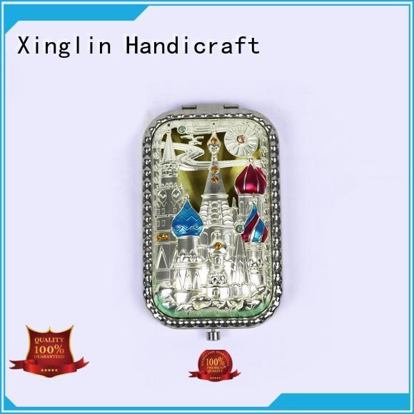Xinglin antique mirror brush comb vanity set factory for home