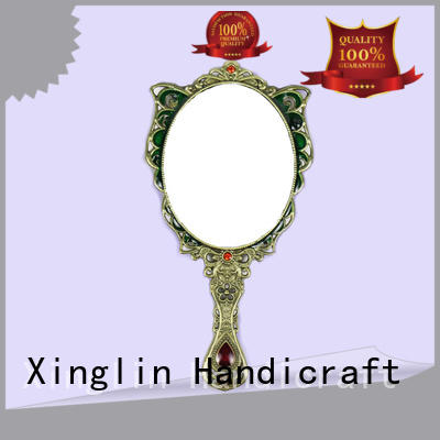 Xinglin double hand held mirrors bulk supplier for collection