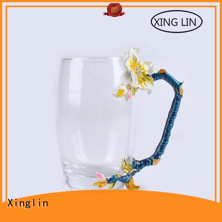 Xinglin light decorative wine glasses with customized logo for party