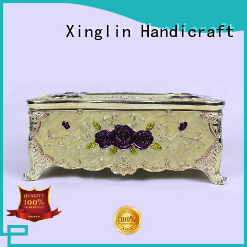 Xinglin fashion custom tissue box cover with bags for home