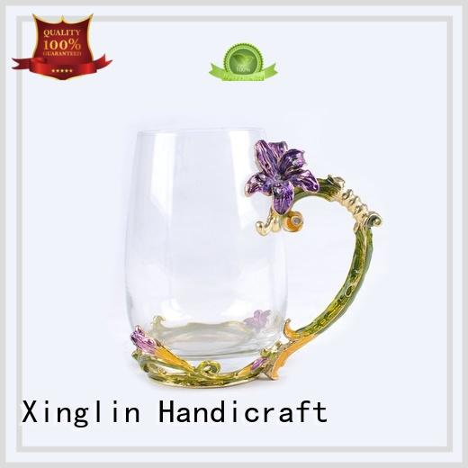 fashion christmas wine glasses manufacturer for party