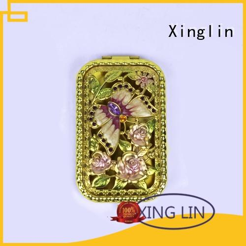 high quality antique hair brush and mirror set supplier for gift